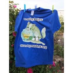 Camiseta Scooby Azul 2
