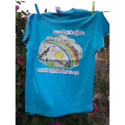 Camiseta Scooby Azul 3