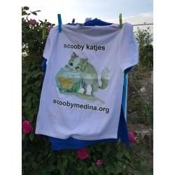 Camiseta Scooby Blanca 1