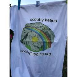 Camiseta Scooby Blanca 2